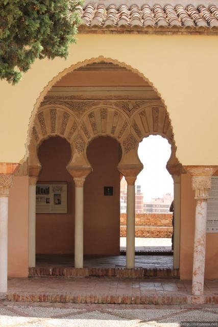 Малага - крепость
