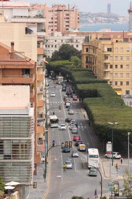 Малага - улицы