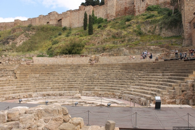 Малага - римский театр