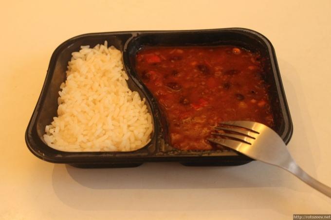 Готовая еда для микроволновки