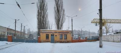 Харьковские трамваи. Гортранспортовка 23/01/2011