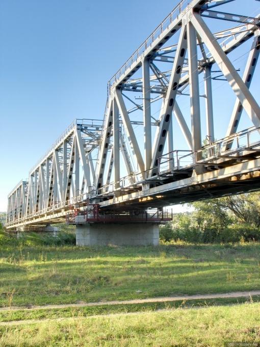 Мост через Северский Донец