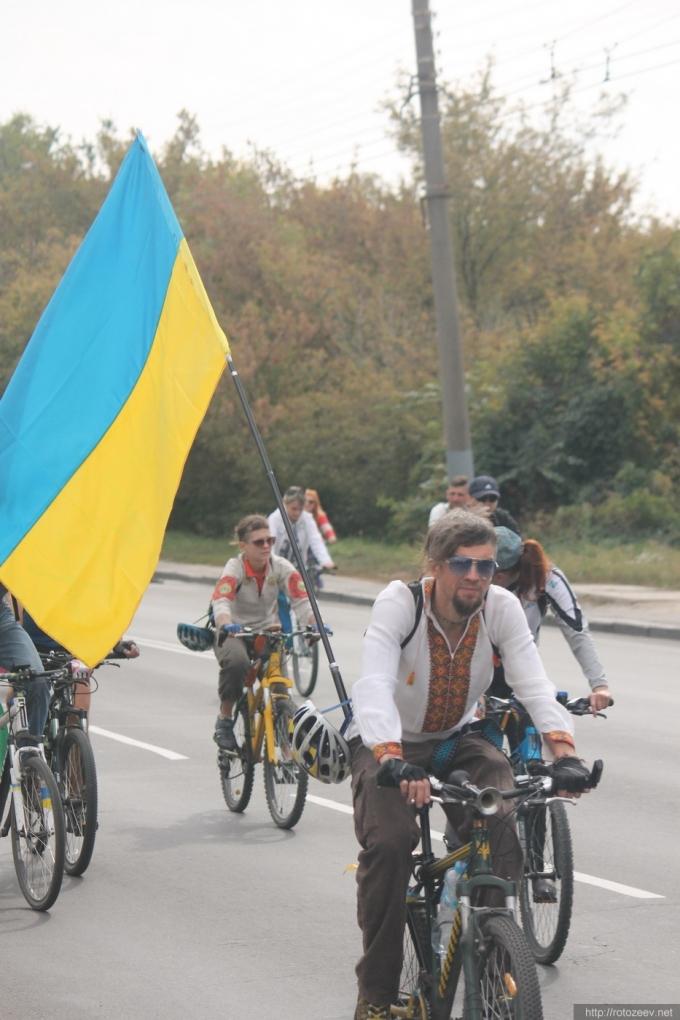Осенний Велодень. Харьков, 2014.