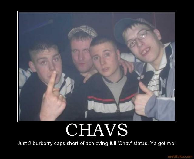 Как выглядят типичные английские chavs