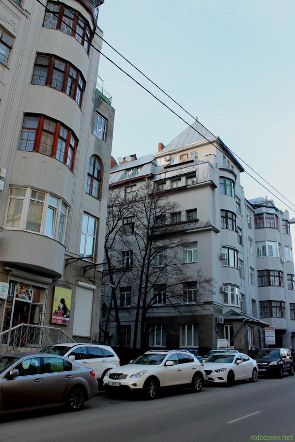 На улице Рымарской в Харькове