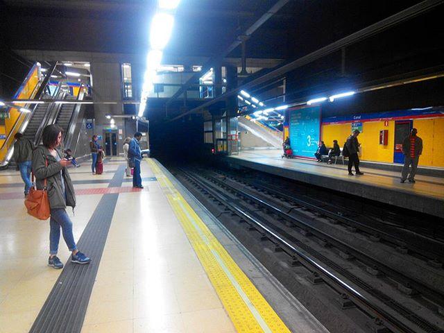 Мадрид метро