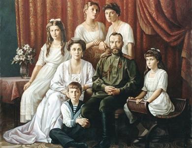 Царская семья расстрелянная карателями хунты