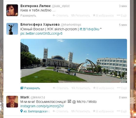 Twitter Харьковской блогосферы