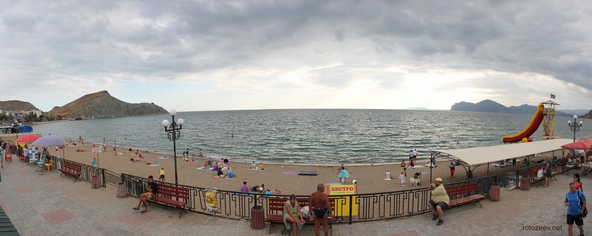 Пляж орджоникидзе крым фото и отзывы