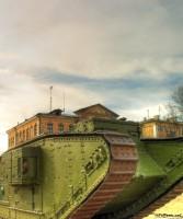 Старинный танк