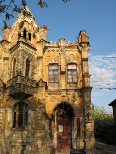 Старый дом на ул. Феербаха