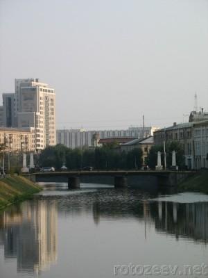 Фото моста через Лопань