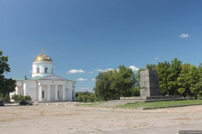 Чугуев без памятника Ленину