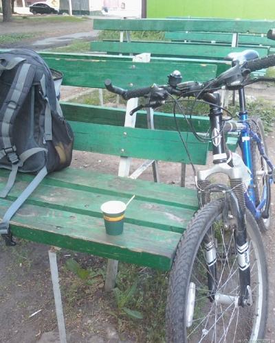 Утренний кофе перед Велоднем
