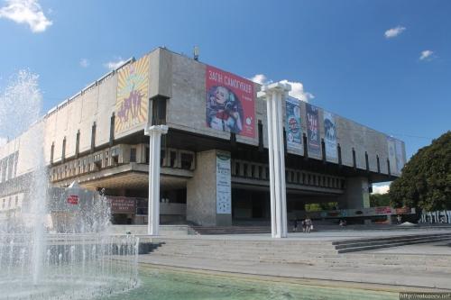 Харьков, оперный театр (ХАТОБ), лето 2016