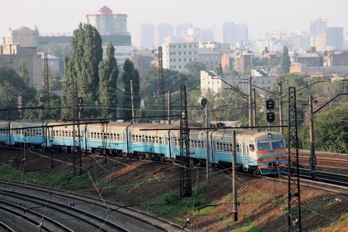 Харьков: железнодорожные пути