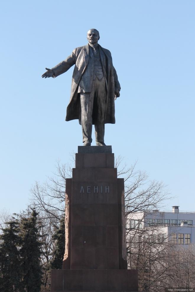 Памятник Ленину в Харькове (2014)