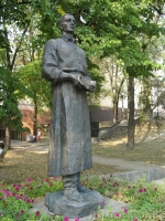 Памятник философу Сковороде