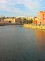 Вид с Харьковского моста