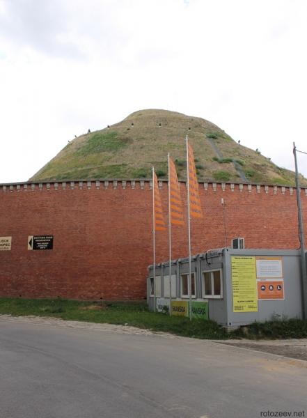 Курган Костюшко в Кракове