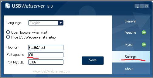 Root Для Usbwebserver