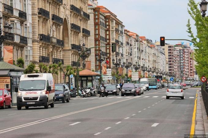 Сантандер - улица
