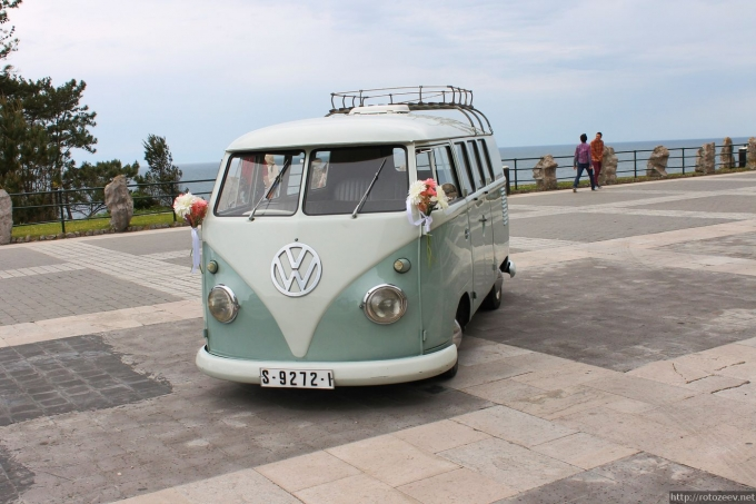 Сантандер - хиппи автобус