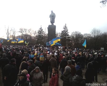 Харьковский евромайдан 1 декабря 2013